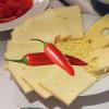 Raclette-Käse Chili oder Pfeffer 1/1 Laib